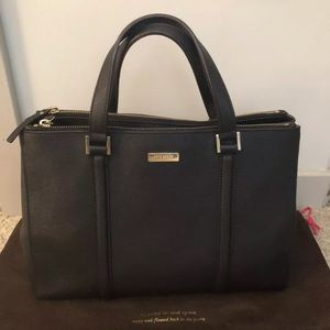 Kate Spade Large Loden Newbury lane Black